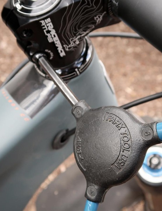 The stem, handlebar and seatpost may be the three most thankless components on a mountain bike. While they need very little in the way of routine adjustments, it is still important to inspect them for signs of damage from time to time
