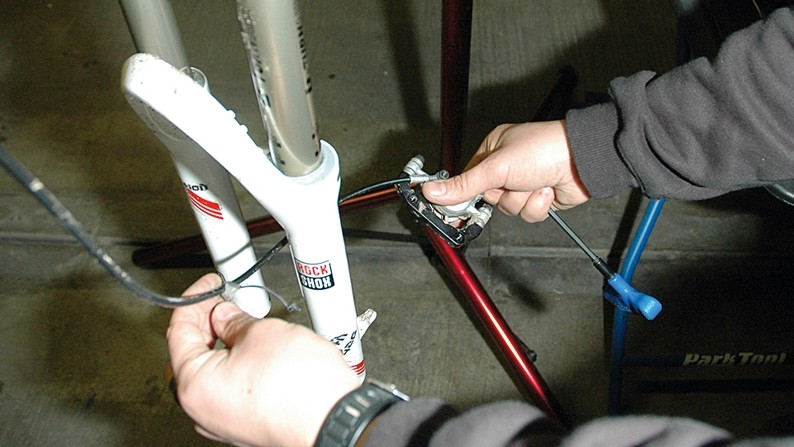 Invest in a decent workstand and it will make your life much easier