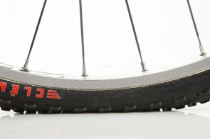 Correct pressure should provide maximum contact area and shock absorption without bottoming out on the rim