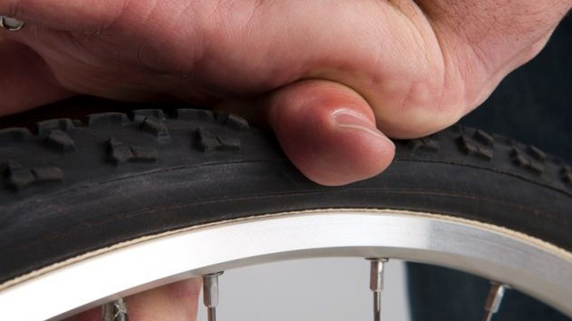 You need not always get your pump/gauge out to check for tyre pressure