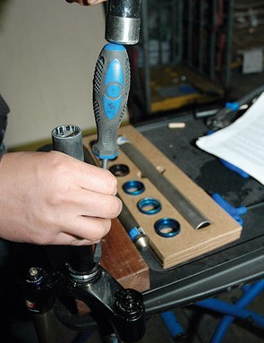 A slide hammer is the right tool for the job here, but this little bodge is a useful trick to know
