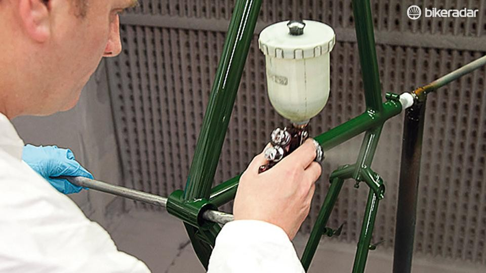 A clear coat lacquer can improve the longevity of your freshly renovated frame