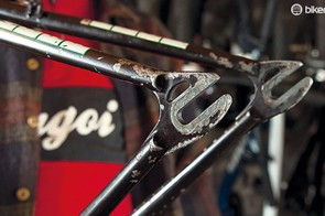 Replacing damaged drop outs is common, and you can even convert a frame to single speed