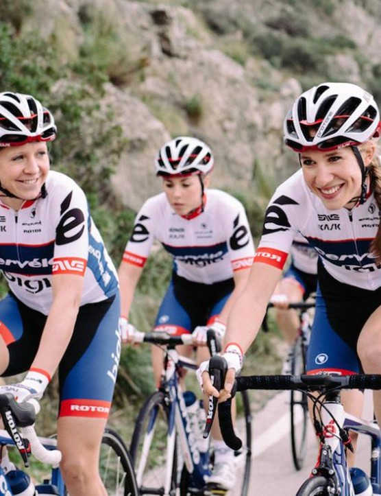 Cervélo Bigla are currently ranked fifth in the UCI team rankings
