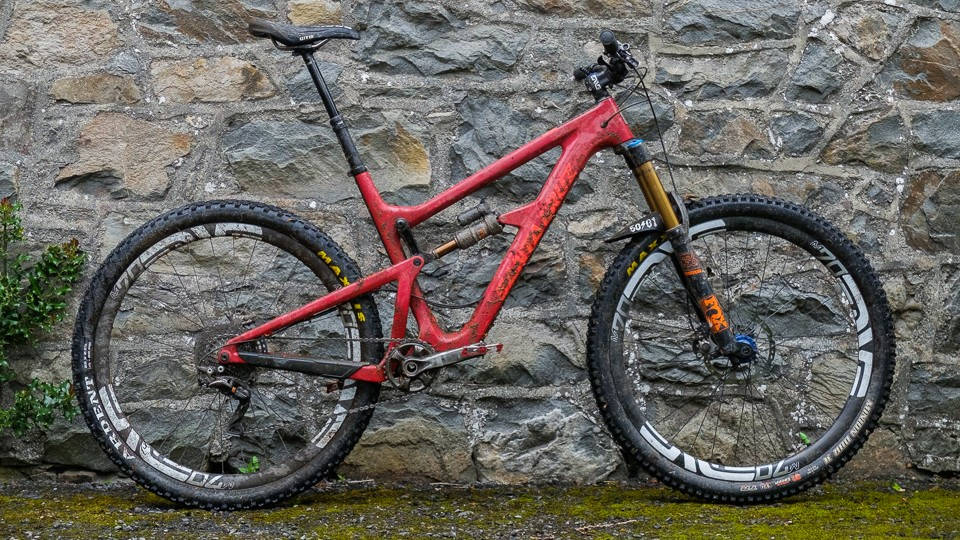 """Steve described the bike as his """"everyday bike"""". Not a bad whip for razzing around the woods on!"""