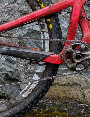 The mechanical Shimano XTR M9000 groupset has seen a lot of use