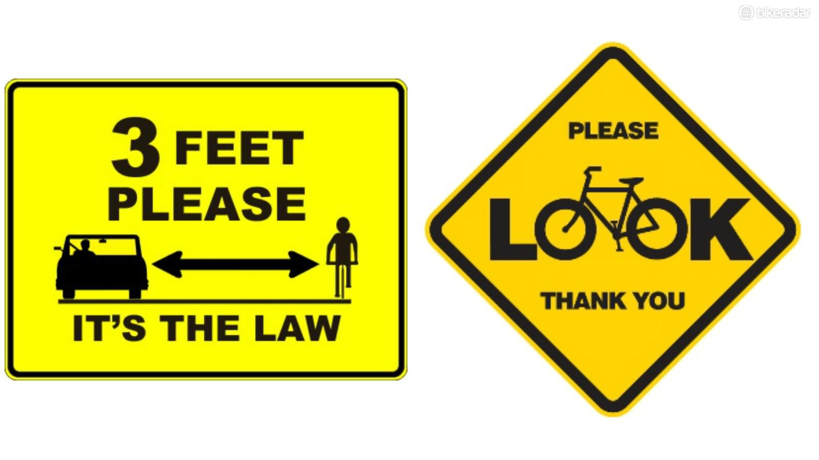 Stickers and magnets that show your support for cyclists' rights on the road might alert other drivers to the need to be aware of cyclists. At the very least, they can't hurt
