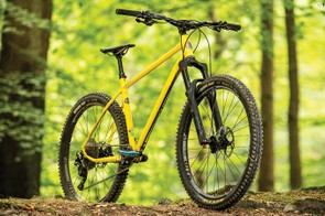 The XT-based spec of the complete bike works really well but you could build a bike 99 percent as thrilling for a lot less cash