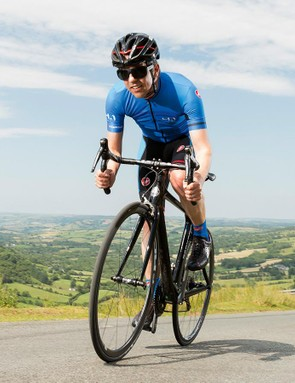 The bike's aggressive geometry definitely won't suit everyone