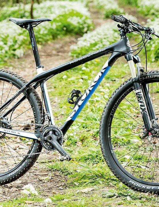 Storck's Rebel Nine XTR THM sports classically steep race-bike geometry