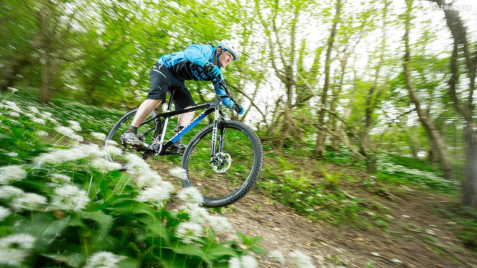 The Rebel Nine's steep angles mean there's no room for complacency on descents