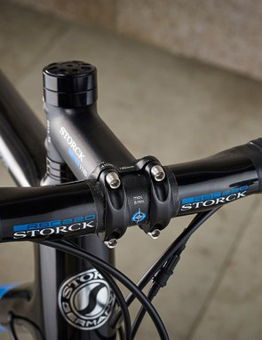 The bar and stem are both Storck own-brand kit