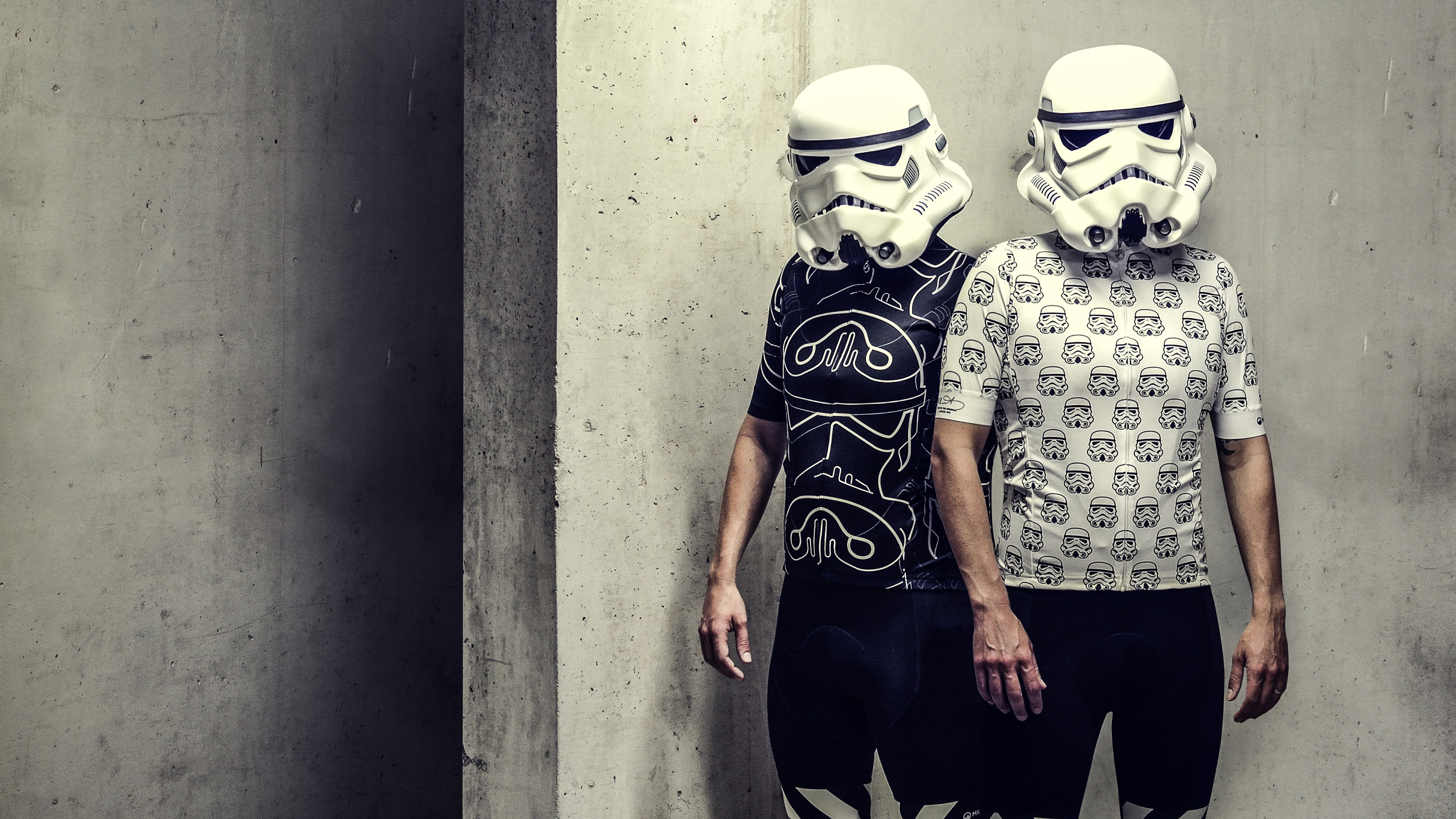 The jerseys are available in two designs: the white Garrison and black Shadow