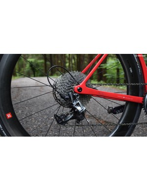 An 11-40 cassette offers a wide range if not small incremental steps between gears