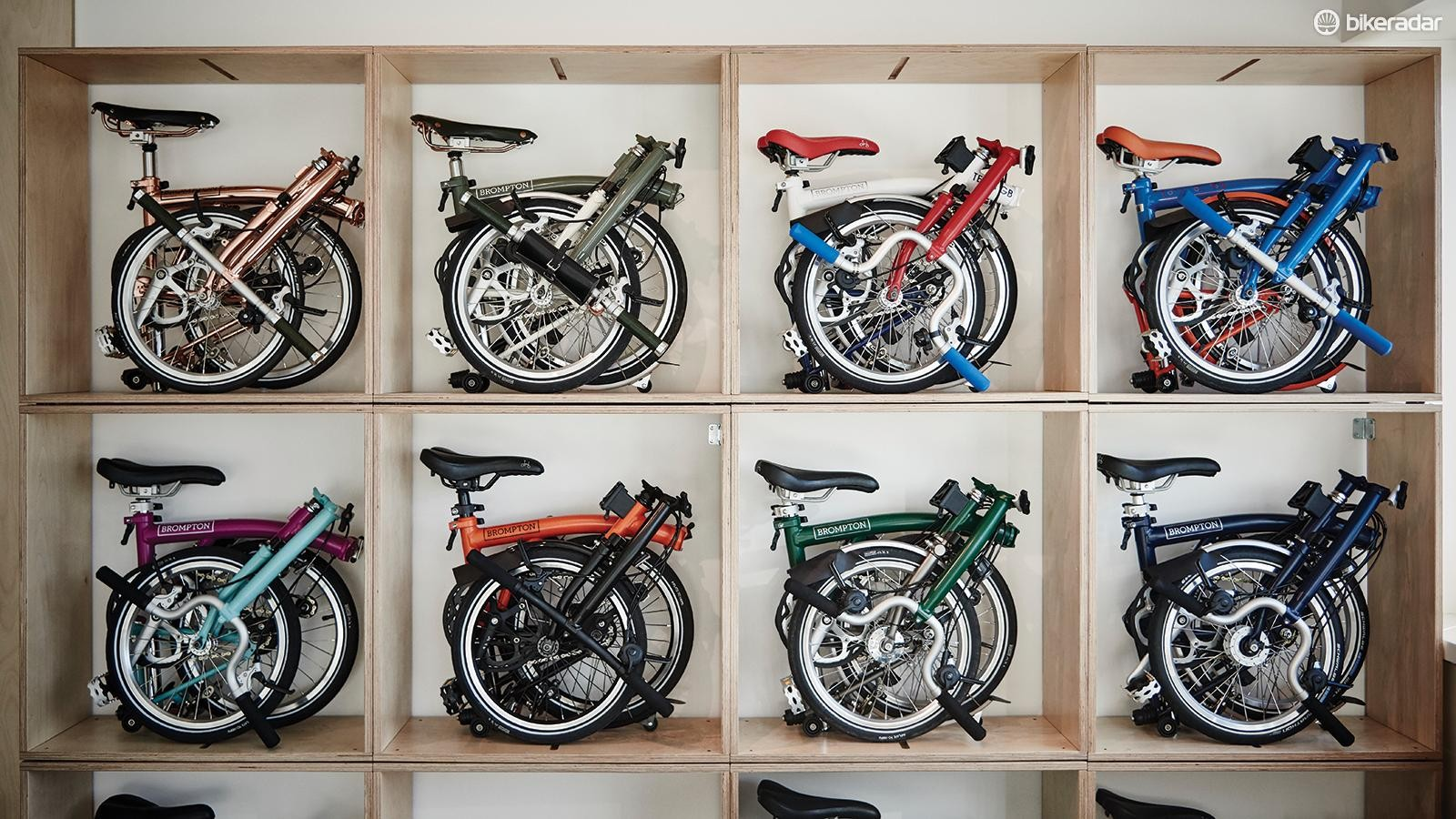 Every Brompton is made to order and the options are endless