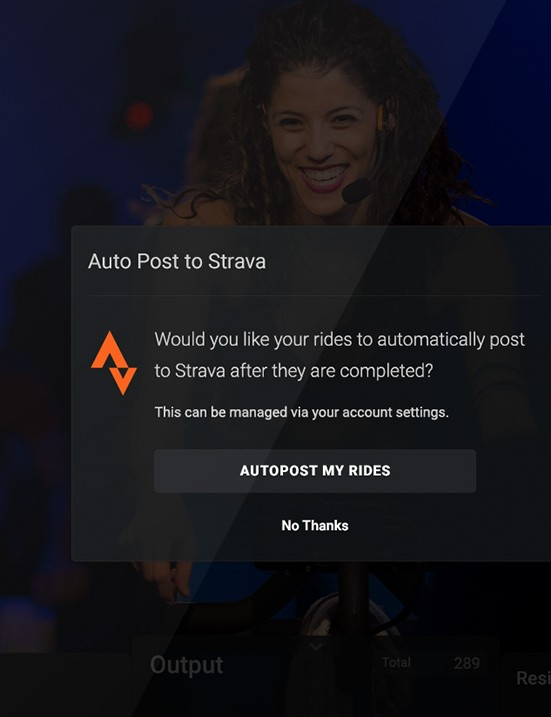 Peloton training sessions can now upload to Strava