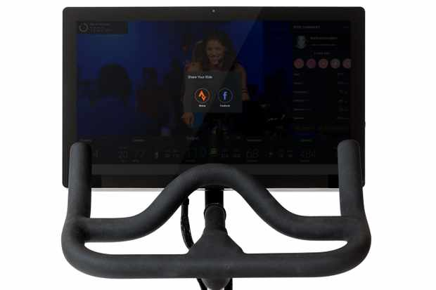Peloton indoor training features dedicated stationary bikes and live and on-demand video training classes