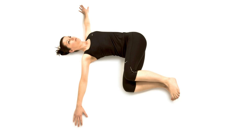 Revolved belly pose
