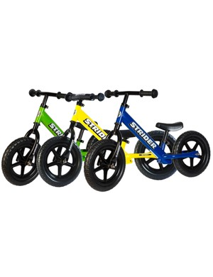 Strider is a very popular make of kids' bike