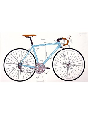 Over two years the students have to create a road bike brand, design their bike on CAD software, build the frame and assemble the parts into a fully functioning bicycle