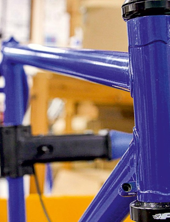 Lugged steel is the ideal way for pupils to start frame building