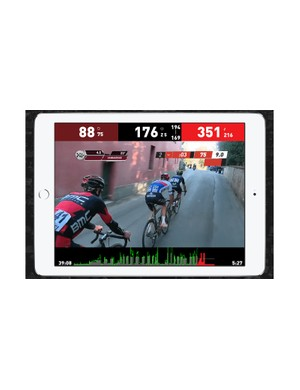 The Sufferfest layers power-based workouts over race video