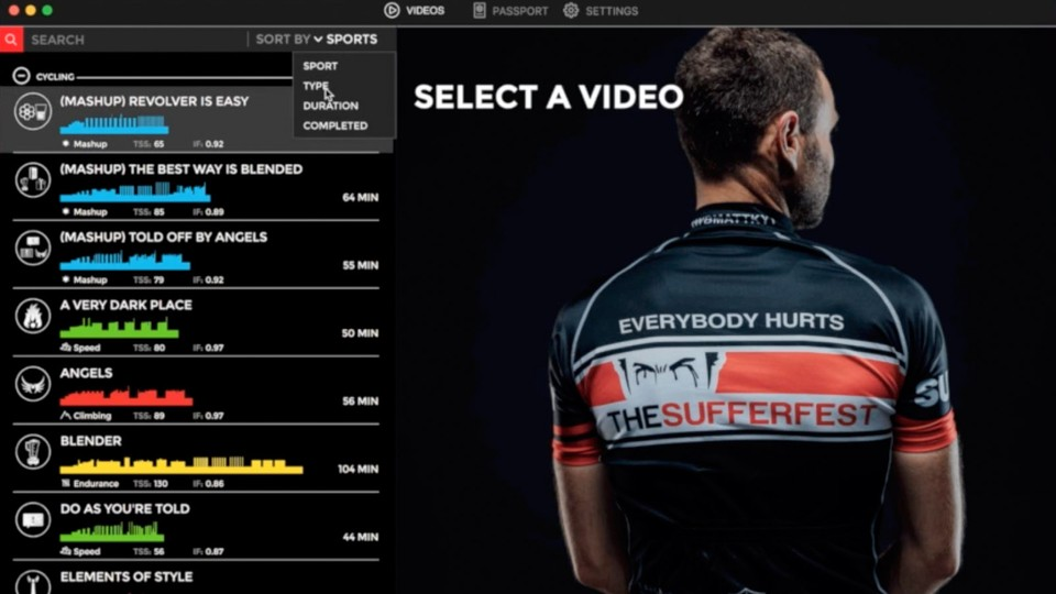 The Sufferfest announces Training Center app for Mac and iOS