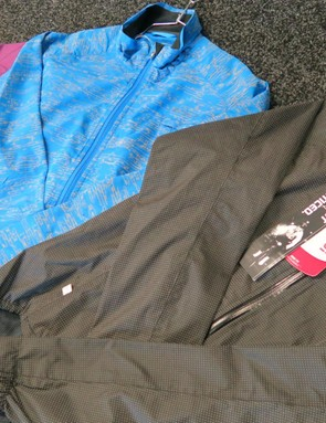 The Zap jacket from Sugoi incorporates a reflective print that looks subtle in day light, and shines bright under headlights and street lights