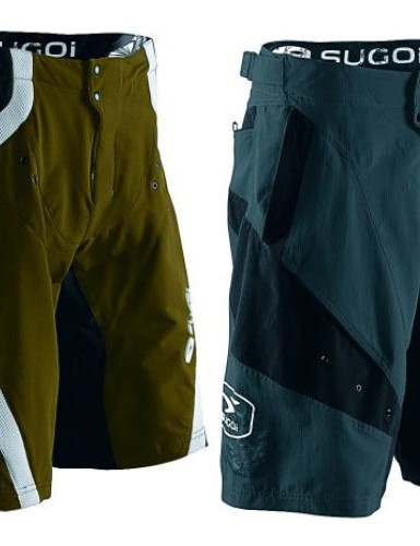 Men's RSX [left] and Gustov [right] shorts