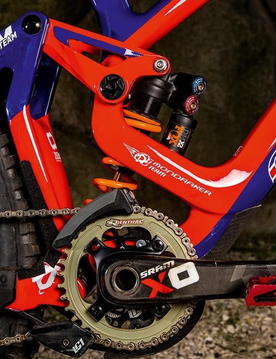 SRAM X0 DH carbon cranks