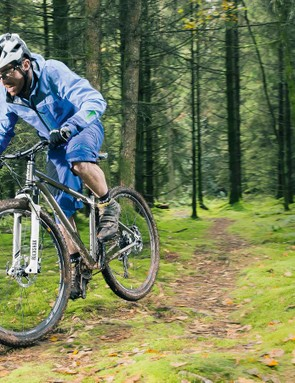 We reckon a few kit tweaks –not to mention that thru-axle upgrade –could really unleash the Celer's inner trail beast