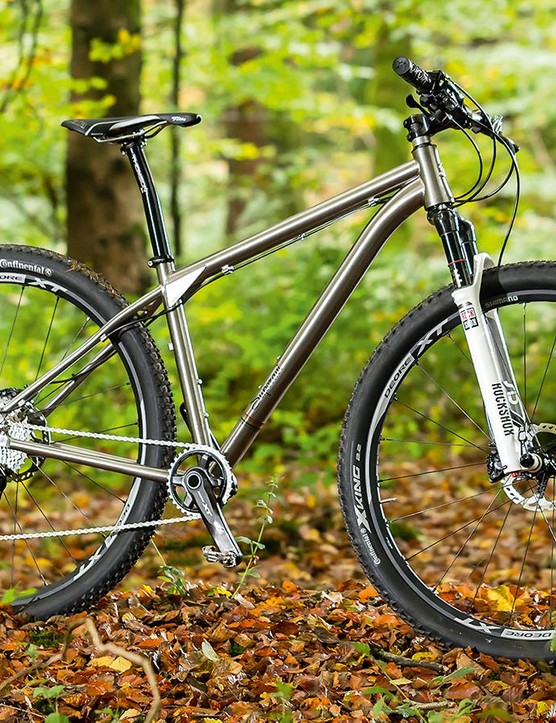 Superavi's Celer is one handsome titanium ride