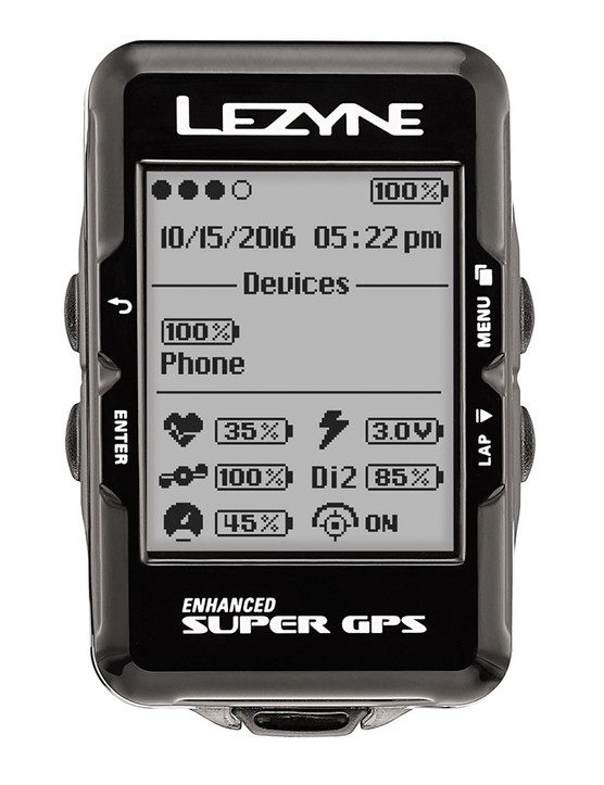 Despite being such a small little unit, the Super GPS is packed full of features
