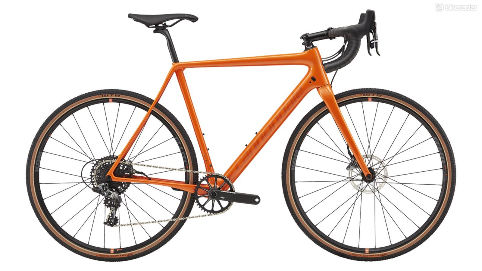 The Cannondale SuperX SE has fatter tires and a wider gear range than the standard CX race versions