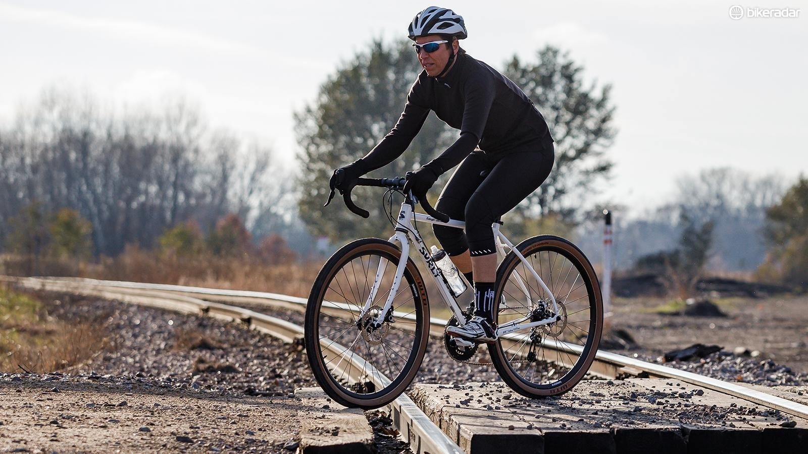 The Surly Midnight Special is a go-anywhere dropbar bike with massive tire clearance