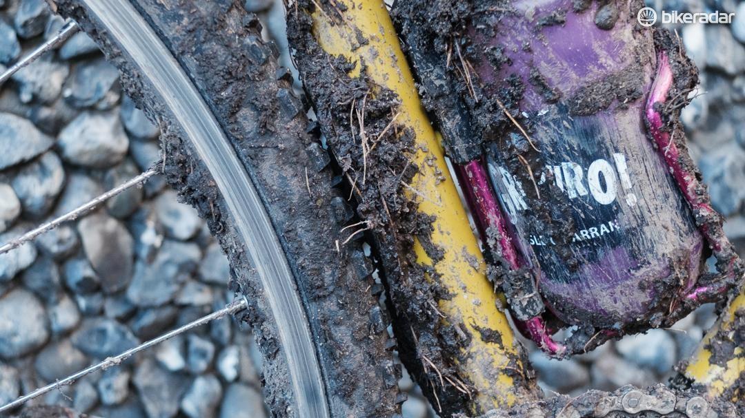 Are mud fairings UCI legal?