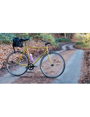 The Steamroller is most at home on broken roads, gravel trails and, of course, the city streets