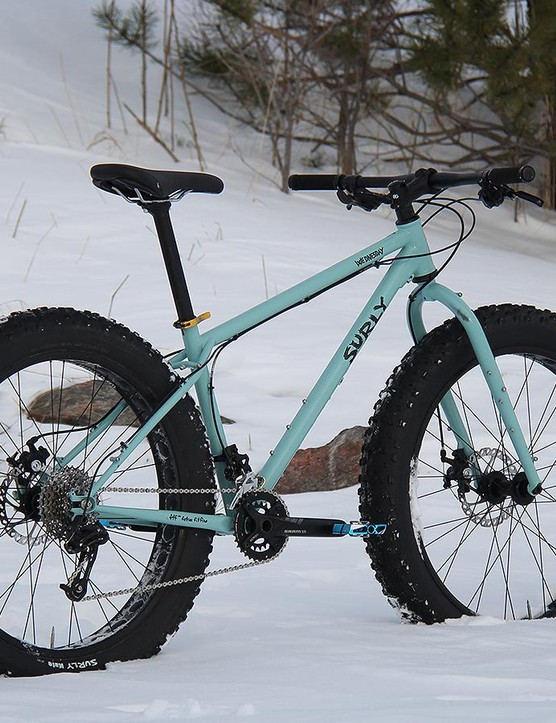 The Wednesday is a good gateway to fat biking. Its trail manners make it fun to ride in any season and the well-built frame is worthy of upgrading as you go