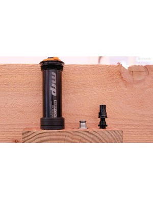 MRP now offers a ramp control cartridge for the Fox 36, allowing users to adjust the spring curve externally