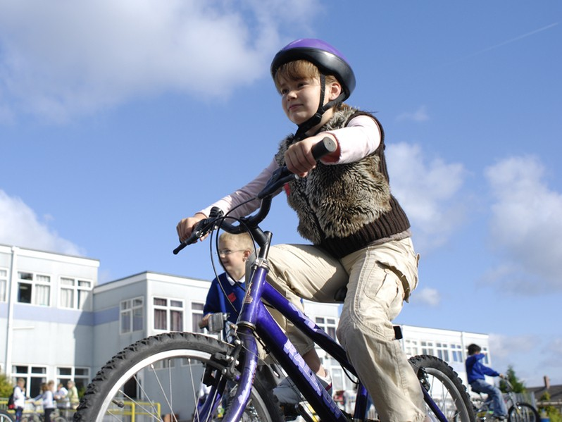 Bikeability aims to get school kids cycling safely