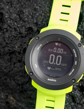 The Ambit3 Vertical displays metrics like any other GPS watch