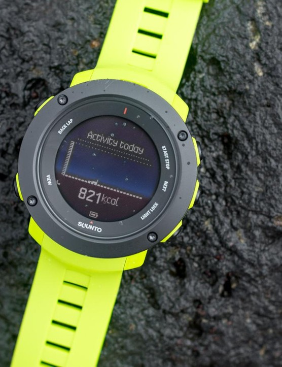 Like many smartwatches on the market the Ambit3 Vertical also serves as an activity tracker