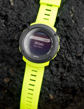 The Ambit3 Vertical can connect to Bluetooth sensors, including power meters