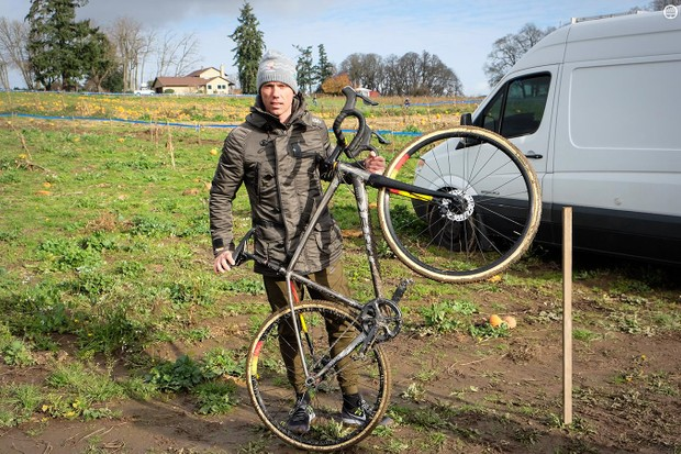 Sven Nys with his custom Trek Crockett SS