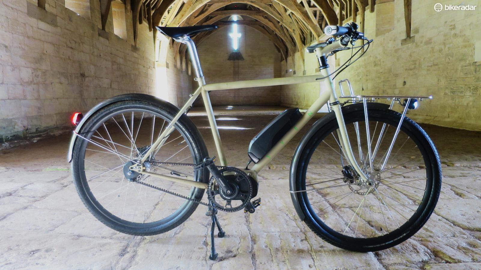 Sven Cycles' new Swift may be the first semi-custom Steel utility e-bike we've seen