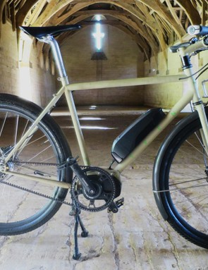 Sven Cycles' new Swift may be the first semi-custom Steel utility e-bike we've seen