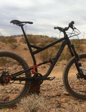 Full-suspension, disc brakes, dropper post, it's probably okay, right?