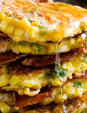 A mouthwatering savoury treat, bacon optional