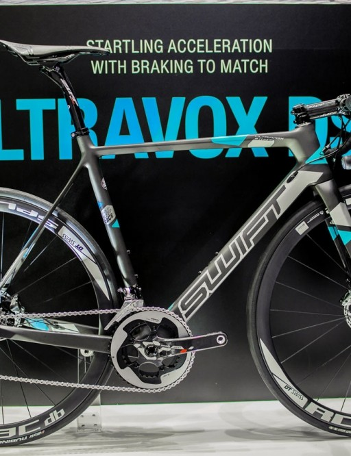 The SwiftCarbon Ultravox DSQ is the brand's first disc-equipped road bike