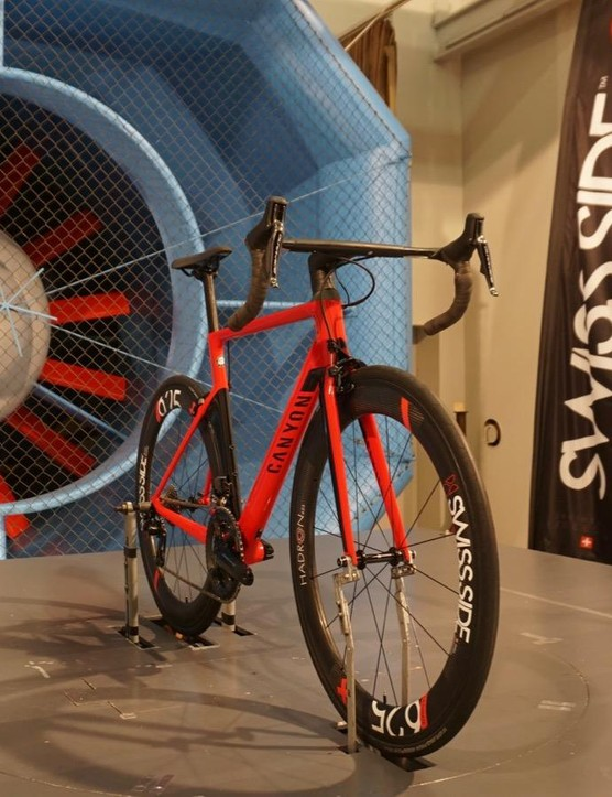 Swiss Side tested aero bars with various tape configurations for us